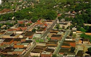 North Carolina Newton Aerial View