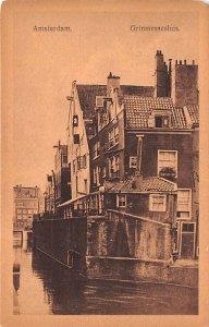 Grimnessesluis Amsterdam Holland Unused