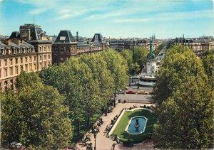 Postcard France Paris La place de la republique