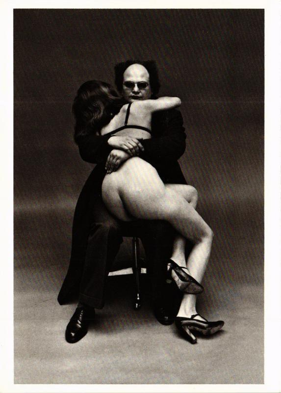 CPM HN4 Portrait of Xavier Moreau and Friend 1974 HELMUT NEWTON (d1244)