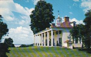 East Front At Mount Vernon Washington