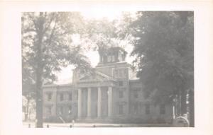 E47/ New Albany Mississippi 1950s Photo RPPC Postcard Union County Court House