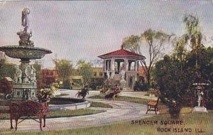 Spencer Square, Rock Island, Illinois, 00-10s