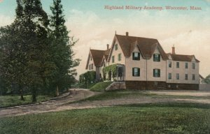 WORCESTER, Massachusetts, PU-1910; Highland Military Academy