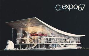 expo67 , MONTREAL , Quebec , Canada ; Pavilion of the Soviet Union