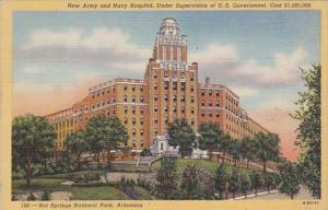 Arkansas Hot Springs Army and Navy Hospital Curteich