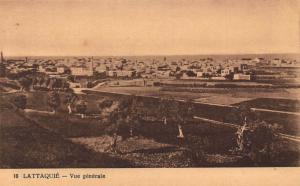 Syria Lattaquie Vue Generale General view Postcard