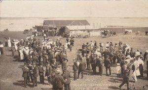 RP: WATERTOWN , Saskatchewan , Canada , 1910 ; Town Picnic