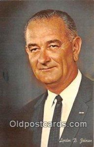 Lyndon B Johnson 36th President Unused