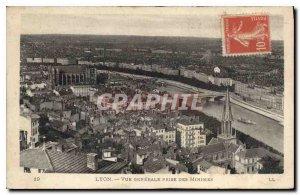 Postcard Old Lyon View Genersale taken Minimes