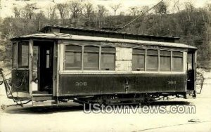 Real Photo, Sand Car 306 in Portland, Maine