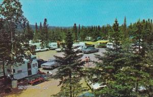 Canada Quebec Senneterre Camping Scene