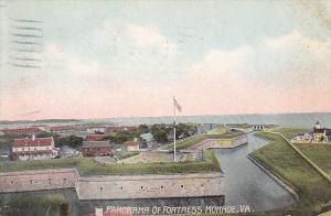 Panorama of Fortress, Monroe, Virginia, PU-1907
