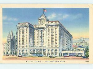 Linen HOTEL SCENE Salt Lake City Utah UT H0989