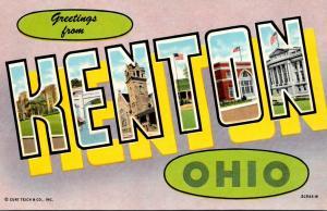 Ohio Greetings From Kenton