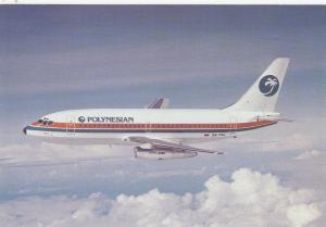 POLYNESIAN Airlines Boeing 737 Jet Airplane , 50-70s #2