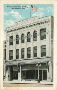 Bartlesville Oklahoma Pioneer Telephone Building Kropp 1920s Postcard 2995