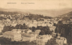 Germany Baden Baden Blick vom Friesenberg Advertising 03.11