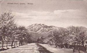 India Quetta Hibbert Road In Winter 1927