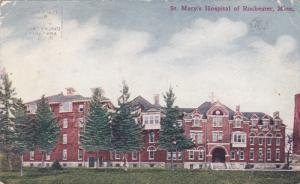 St. Mary's Hospital Of ROCHESTER, Minnesota, 1900-1910s