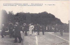 Arrive du Roi et de la Princesse Clementine , 75th Anniversity of Independenc...