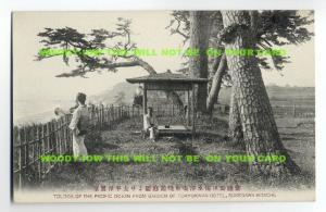 ft644 - Japan - Garden of Tokyokwan Hotel , Sukegawa Hitachi - postcard