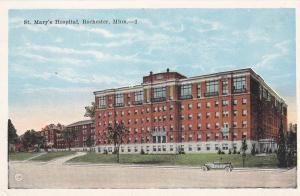 ROCHESTER, Minnesota, 10-20s; St. Mary's Hospital