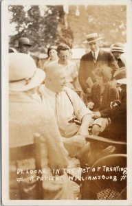 Dr. Locke Williamsburg ON Ontario c1932 RPPC Postcard F78