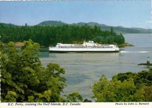 British Columbia Ferry, Cruising the Gulf Islands, British Columbia, Canada, ...