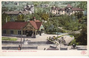 MANITOU , Colorado, 1901-07 ;  Soda Springs