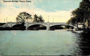 Connecticut Derby Concrete Bridge 1911