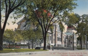 HAMILTON , Ontario , Canada , 1900-10s ; First United Church, King St. East