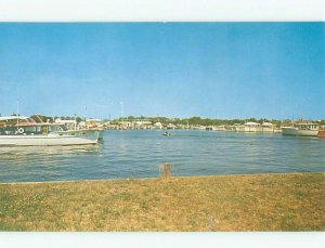 Pre-1980 BOAT SCENE Long Island - Westhampton Beach New York NY AF4589@
