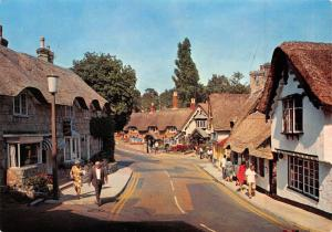 Postcard The Old Village, Shanklin, Isle of Wight by J. Arthur Dixon Ltd N46