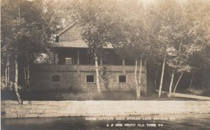 RP; ENFIELD , Maine , 1914 ; Cold Stream Lake, Oakes Cottage