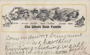 The Whole Dam Family, Cat, Lizzie, Anne, Miss UB, Herself, Mr. I B, 1901-07