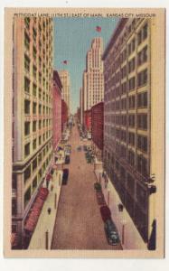 P286 JL 1946 postcard kanas city mo petticoat la street view