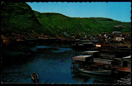 Petty Harbour, Newfoundland, Canada - 1975