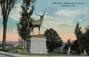 RICHMOND , Virginia , 1916 ; Elks Rest (Hollywood cemetery)