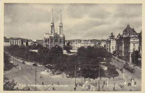 Freiheitsplatz Mit Votivkirche, Wien (Vienna), Austria, 1900-1910s