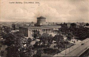 Ohio Columbus State Capitol Building 1908
