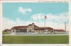 Wyoming Cheyenne U S Veterans' Hospital Curteich
