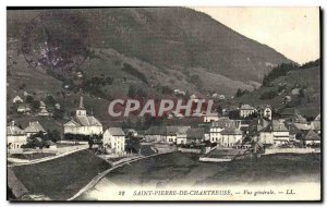 Old Postcard Saint Pierre De Chartreuse Vue Generale