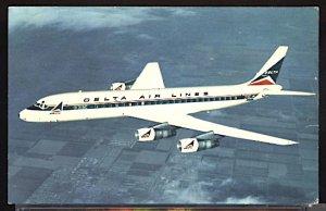 Aviation Airplane Delta Airlines Douglas DC 8 Fanjet