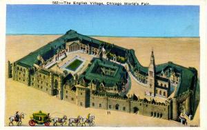 IL - Chicago. 1933 World's Fair-Century of Progress. The English Village