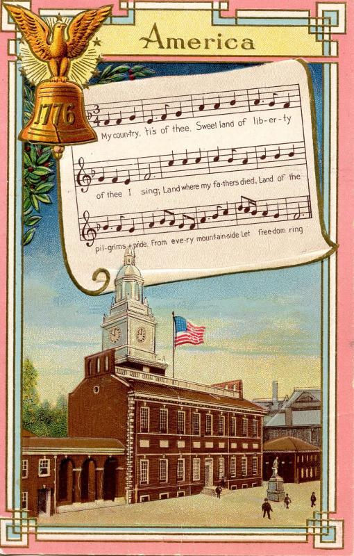 America, National Song Series (Winsch)  (Music, Lyrics)