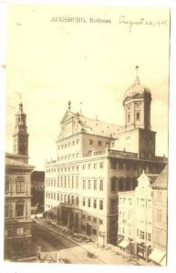 Rathaus, Augsburg (Bavaria), Germany, 1900-1910s