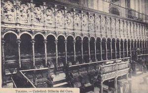 Catedral: Silleria Del Coro, Toledo, Spain, 1900-1910s