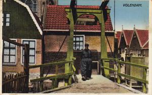 Netherlands Volendam Town Scene