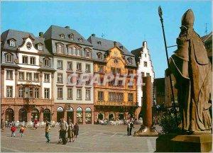 Modern Postcard Mainz am Rhein Marktplatz